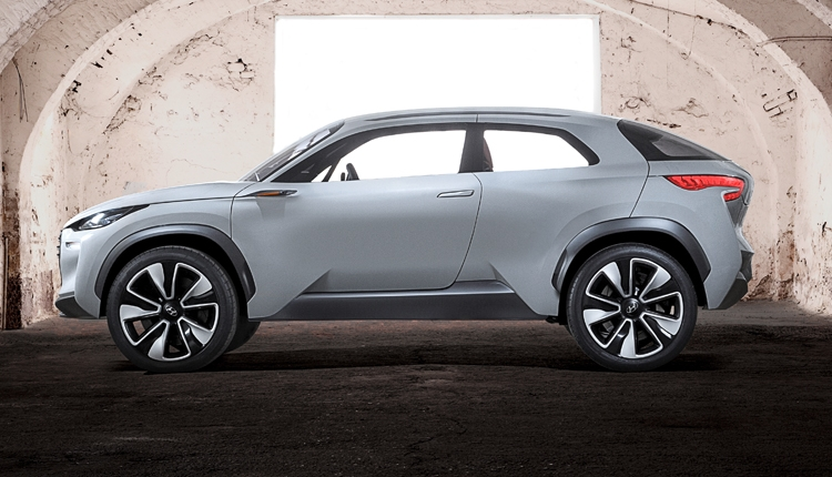 Hyundai hydrogen crossover